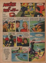 « Angoisse au bout du fil » Lisette n° 40 (01/10/1961).
