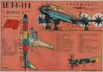 « Le TU 114 » Cœurs vaillants n° 45 (09/11/1958).