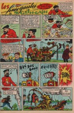 « La Fine Gaule de Saint Glin Glin » Cœurs vaillants n° 9 (28/03/1961).