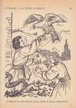 Illustration pour « L'Onagre d'argent » de L. N. Lavolle Fleurus/Gautier-Languereau (1957).