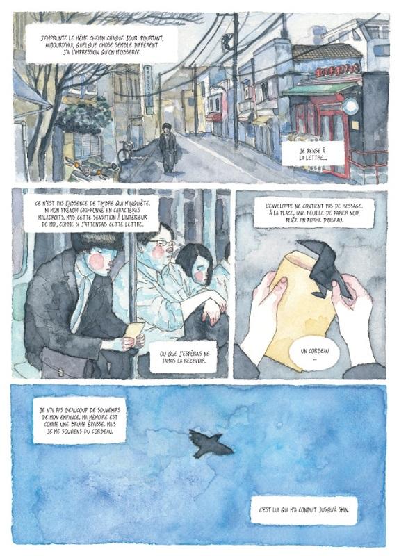 le songe du corbeau planche 6