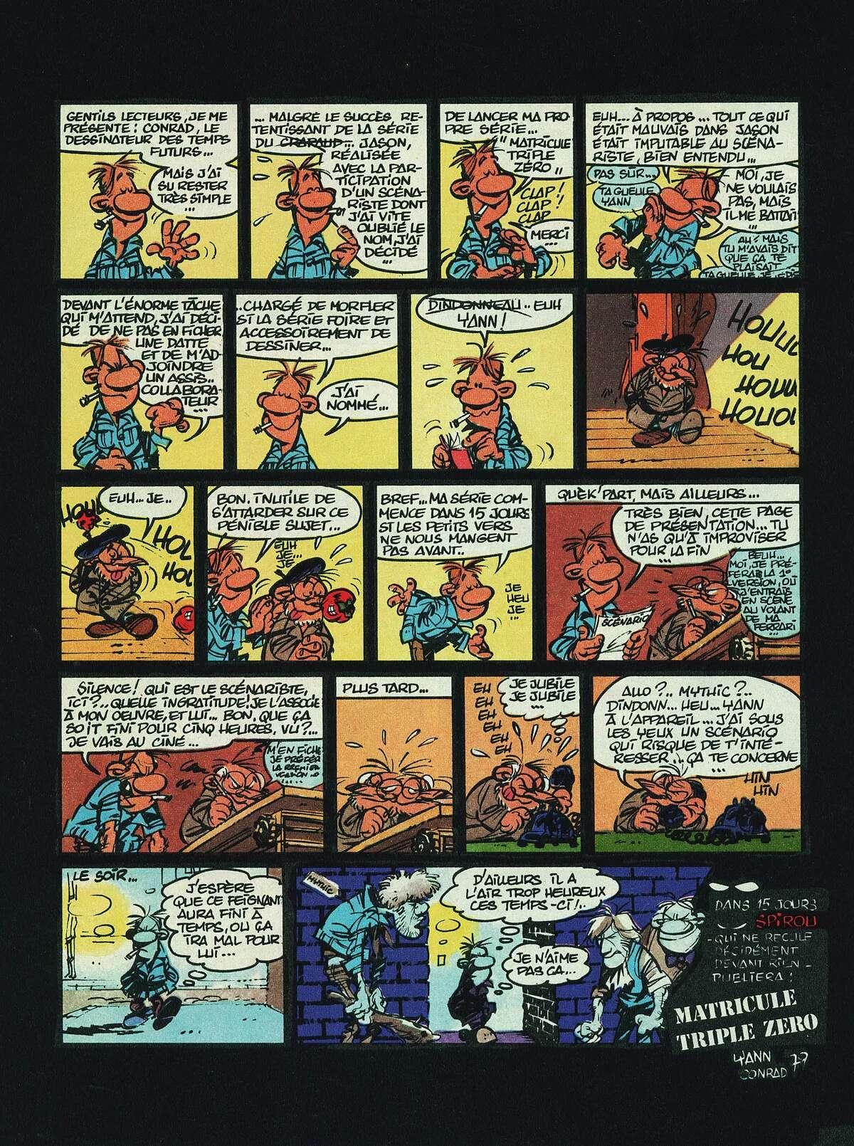 Page annonce parue dans Spirou n° 2180 (24 janvier 1980).