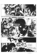 Planche originale de « Bob Morane » par William Vance.