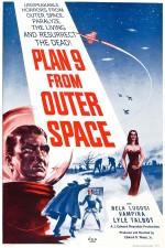 Un autre film culte de Lugosi : affiche pour « Plan 9 from Outer Space » (Ed Wood, 1959).