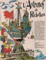«L'Astronef de Richelieu» Formule 1n°2 (13/01/1972).