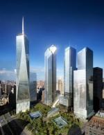 Le nouveau World Trade Center, devenu un lieu de commémorations des attentats.
