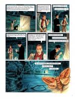 Chasse aux papillons... (extraits du tome 1 : « Le Retour » : planches 3 et 4 - Le Lombard 2011-2021).