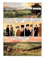 Nature et natures humaines (extrait du tome 2 : « Entre chien et loup » : planche 13 - Le Lombard 2012-2021).