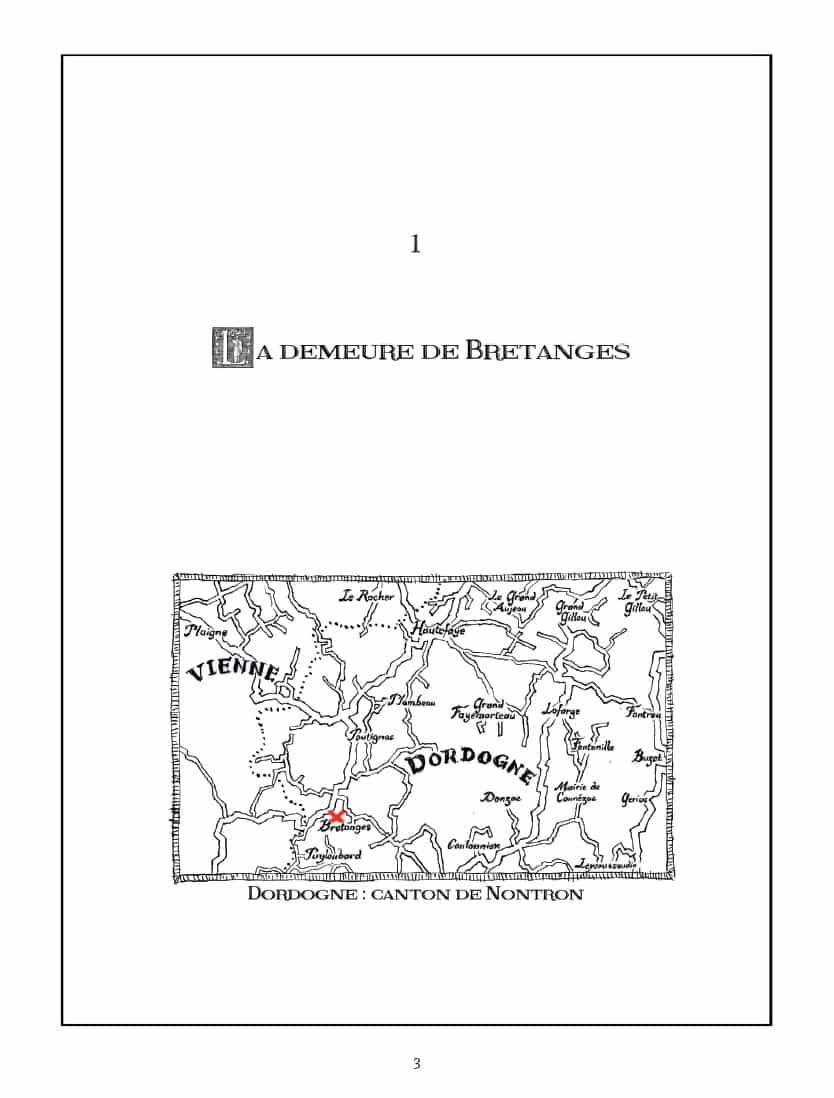 Les lieux du crime et la victime, Alain de Monéys.