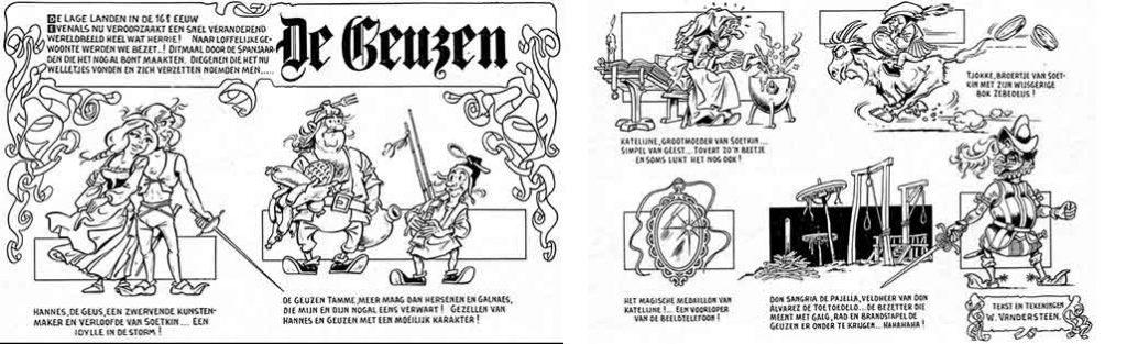 Première version de « De Geuzen », en 1972.