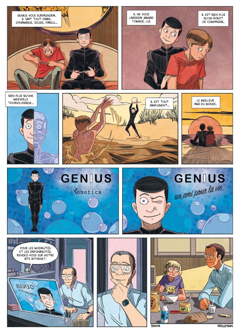 « Genius » page 5.
