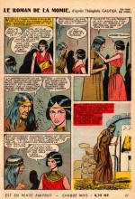 « Le Roman de la momie » Jeunesse joyeuse n° 80 (10/1961).