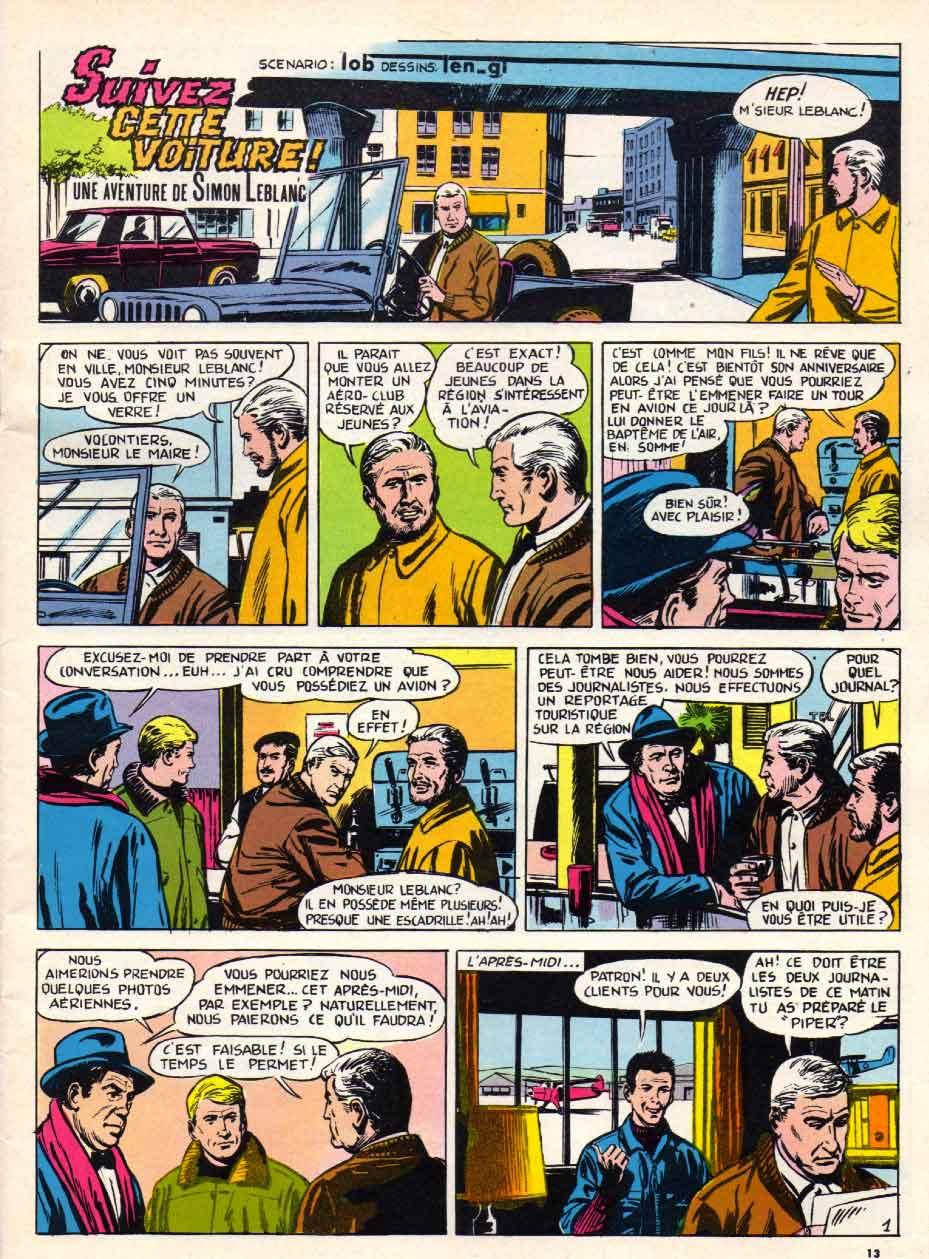 « Simon Leblanc » Record n° 42 (06/1965).