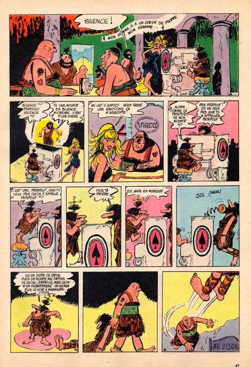 « Panique à Mammouth City » Chouchou n° 10 (01/04/1965).