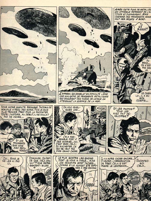 « Les Dossiers soucoupes volantes » Pilote n° 508 (31/07/1969).