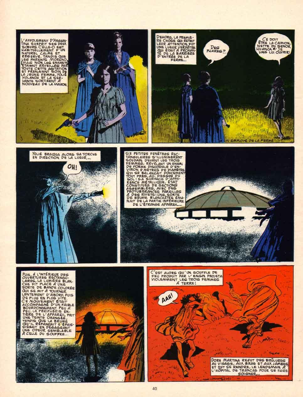 « Dossiers soucoupes volantes » Pilote mensuel n° 12 (05/1975).