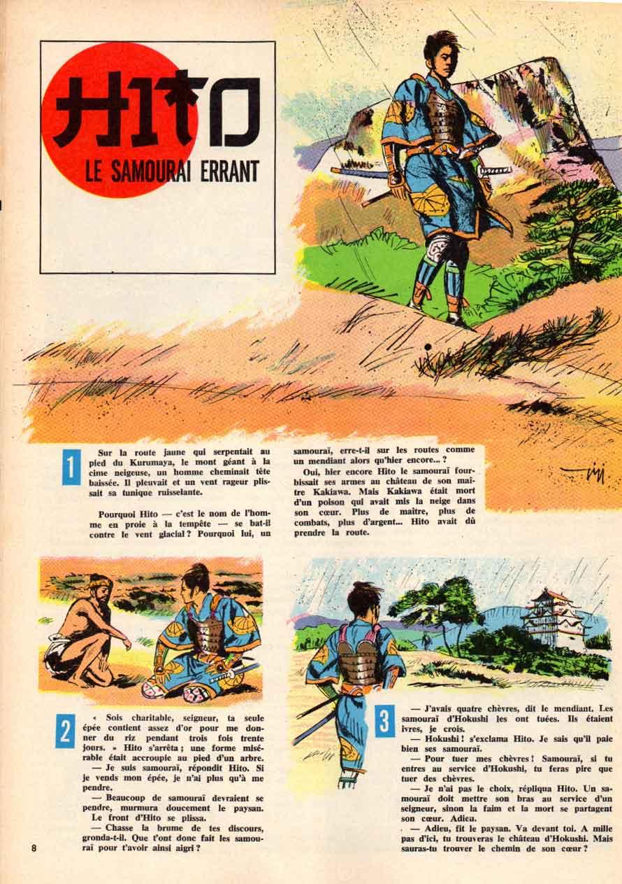 « Hito » Francs-Jeux n° 456 (15/09/1965).