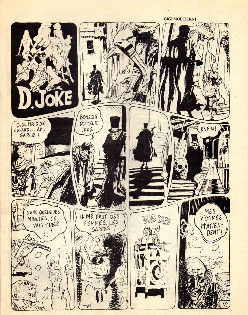 « Dr Jokes » Underground comics n° 0 (1970).