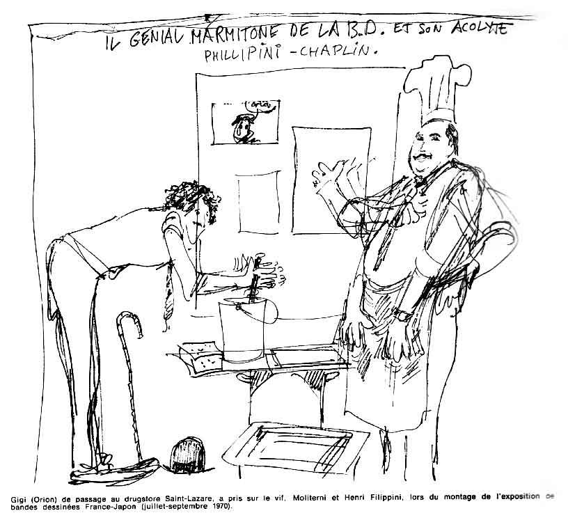 « Il Genial Marmitone de la BD » Phénix n° 14 (10/1970).