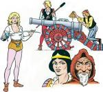 Les principaux personnages de  « De Geuzen ».
