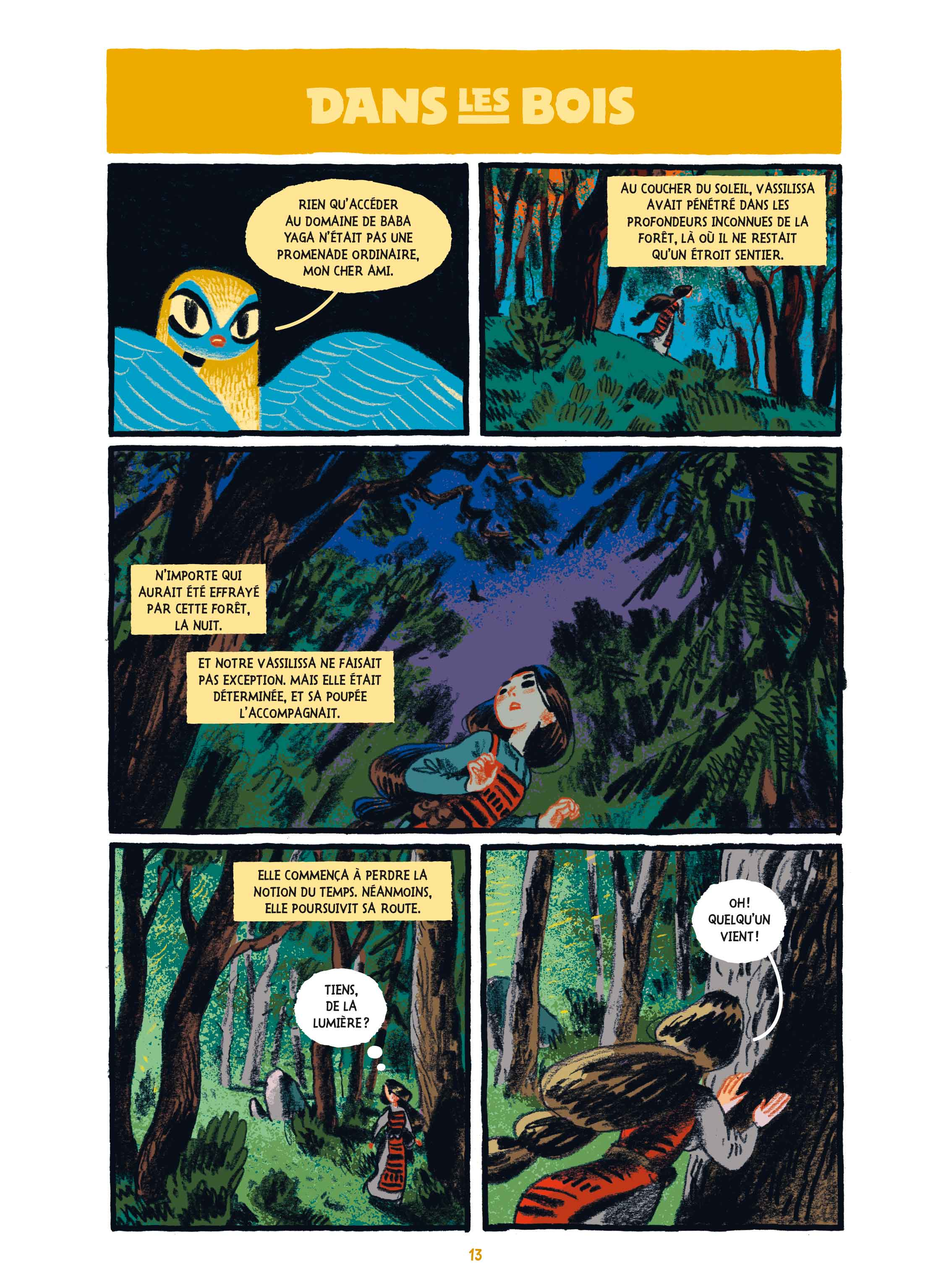 La Princesse guerriere page 13