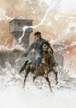Dessin original et couverture pour la version grand format (Glénat, 2021).