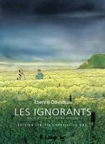 Une nouvelle couverture pour « Les Ignorants » (Futuropolis, 2021).