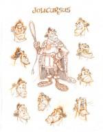 Le gladiateur animalier Jolicursus, l'un des nouveaux personnages de l'album.