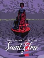 La couverture du tome 2 de « Saint-Elme ».