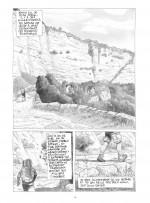Sols, roches et grottes... (planches 10 et 11 - Futuropolis, 2021).