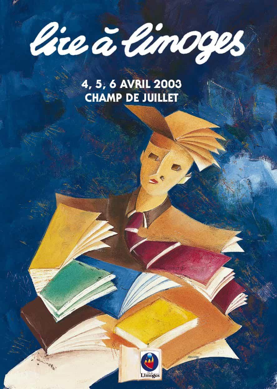 Lire à Limoges du 4 au 6 avril