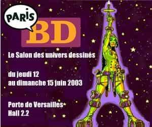 Paris BD l'ambitieux