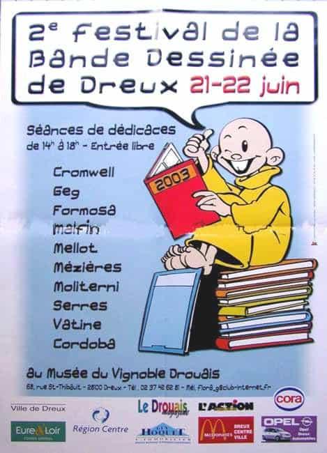 2°FESTIVAL DE LA BD DE DREUX
