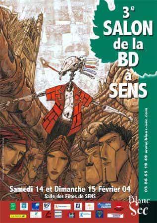 3°SALON DE LA BD A SENS