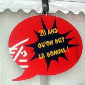 LA CAISSE D'EPARGNE...20 ANS D'ACTION