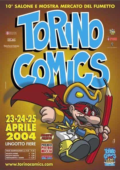 TORINO COMICS: 10° anniversaire.