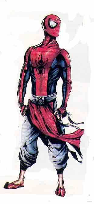 SPIDER MAN MADE IN INDIA