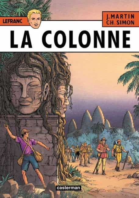 Lefranc : La colonne