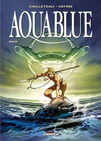 Une troisième couverture pour le premier tome d'Aquablue !