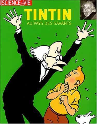 Tintin au pays des savants.