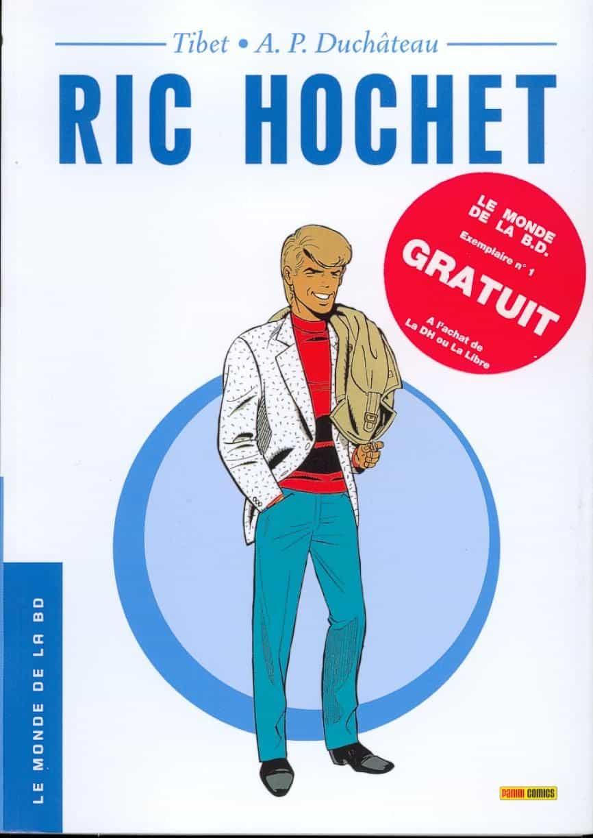 Ric Hochet collector gratuit en Belgique