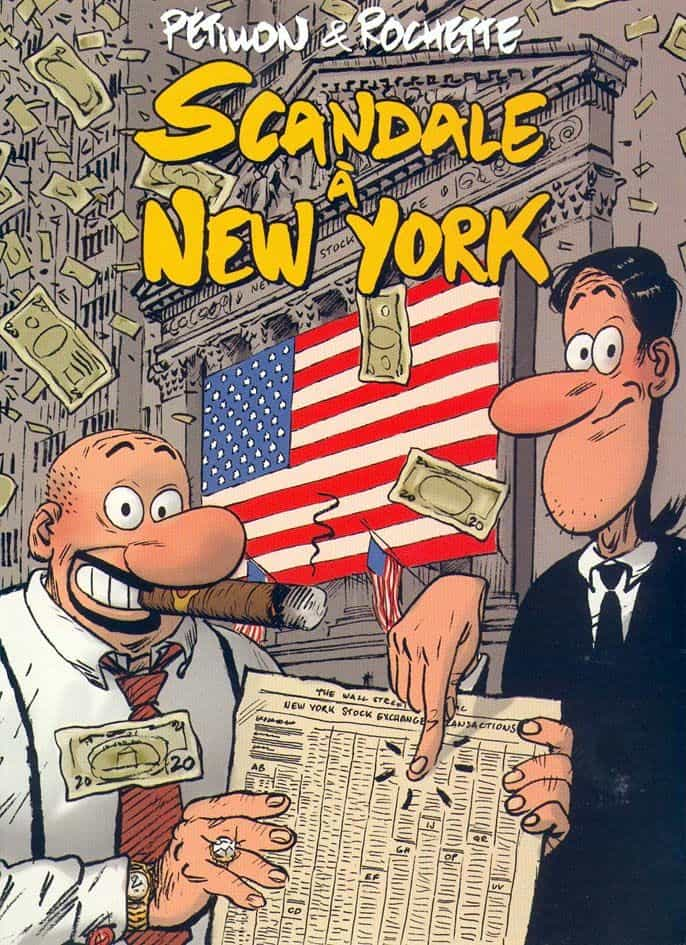 SCANDALE A NEW-YORK