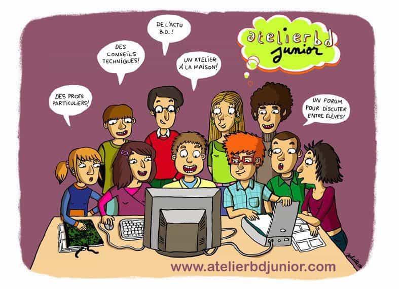 L'AtelierBD lance l'AtelierBD Junior