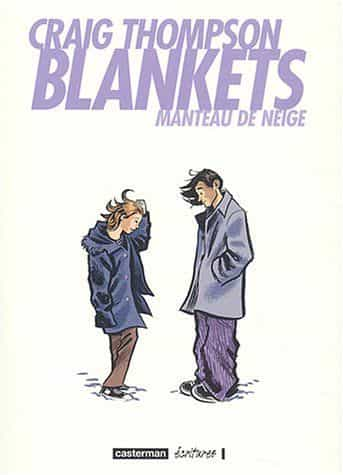 BLANKETS, de Craig Thompson, élu Grand Prix de la Critique