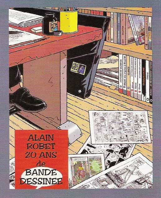 Alain Robet  -  20 ans de bande dessinée