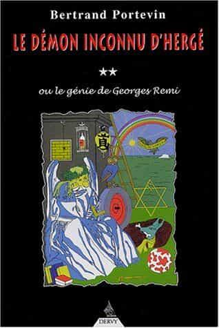 Une relecture des aventures de Tintin  : Le démon inconnu d'Hergé