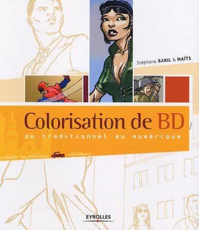 Colorisation de bd du traditionnel au numérique