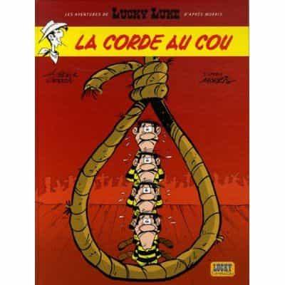La corde au cou : Une deuxième aventure de Lucky Luke « d'après Morris » … et Goscinny !