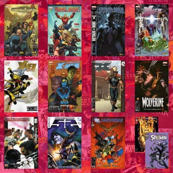 SUPER-HEROS EN KIOSQUE DE NOVEMBRE 2007.