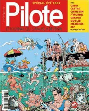 PILOTE, MÂTIN QUEL JOURNAL!